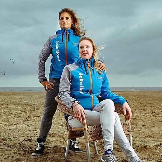 Afrodite Zegers-Kyranakou en Anneloes van Veen